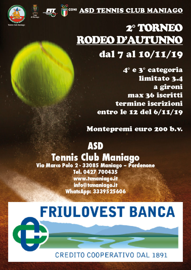 2° Rodeo D'autunno